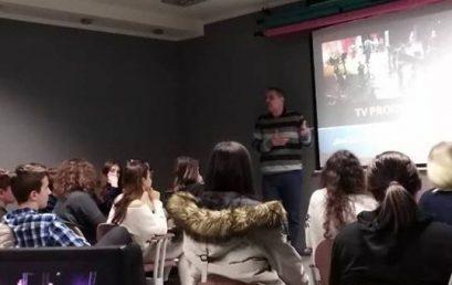 "Akademija umetnosti se predstavila đacima srednje škole ""Artimedia"""