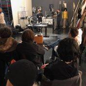 Demonstracija snimanja pomoću drona na Akademiji umetnosti