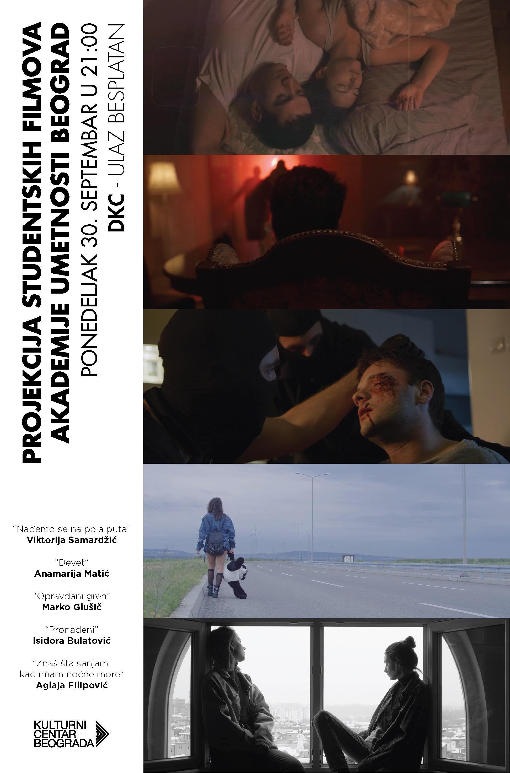 REVIJA ZAVRŠNIH ISPITNIH FILMOVA  2018/2019. STUDENATA IV GODINE