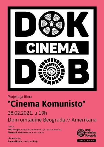 """PROF. JOVANA NIKOLIĆ AUTOR PROGRAMA """"DOK CINEMA"""" U DOMU OMLADINE BEOGRADA"""